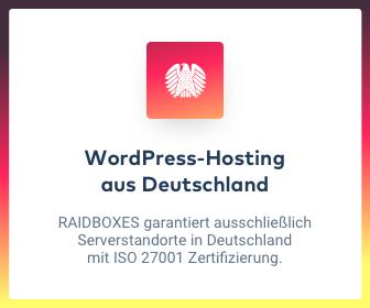 hosting aus deutschland raidboxes