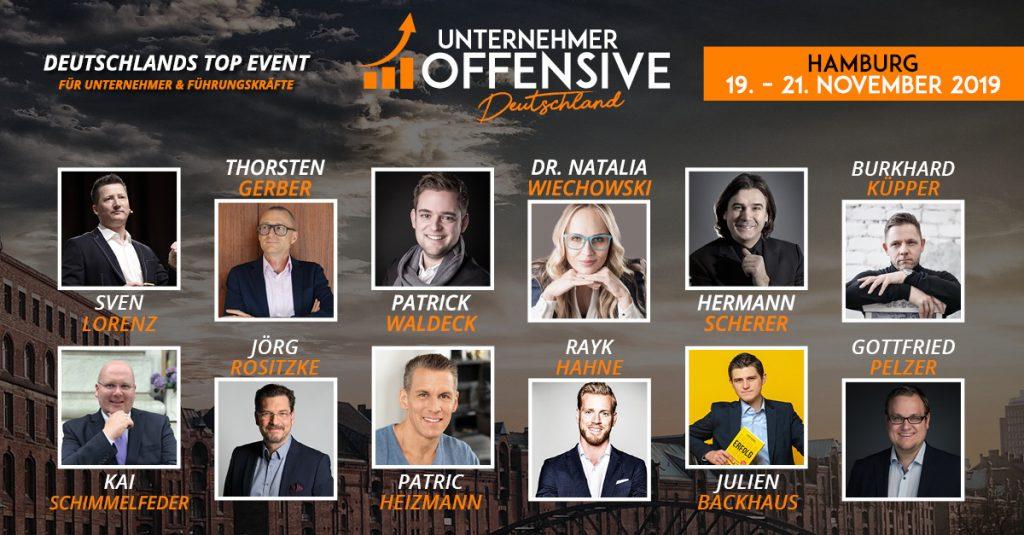 unternehmeroffensive 2019 deutschland hamburg